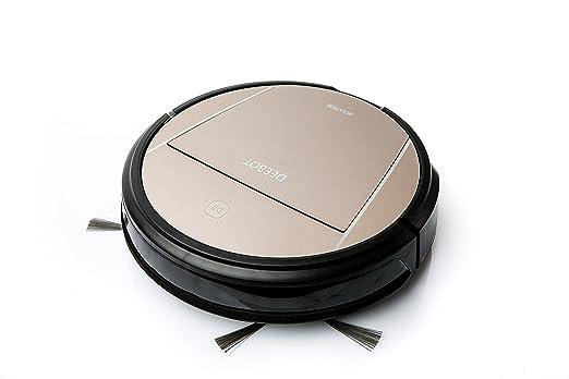 Ecovacs D83 - Robot aspirador, color dorado: Amazon.es: Hogar