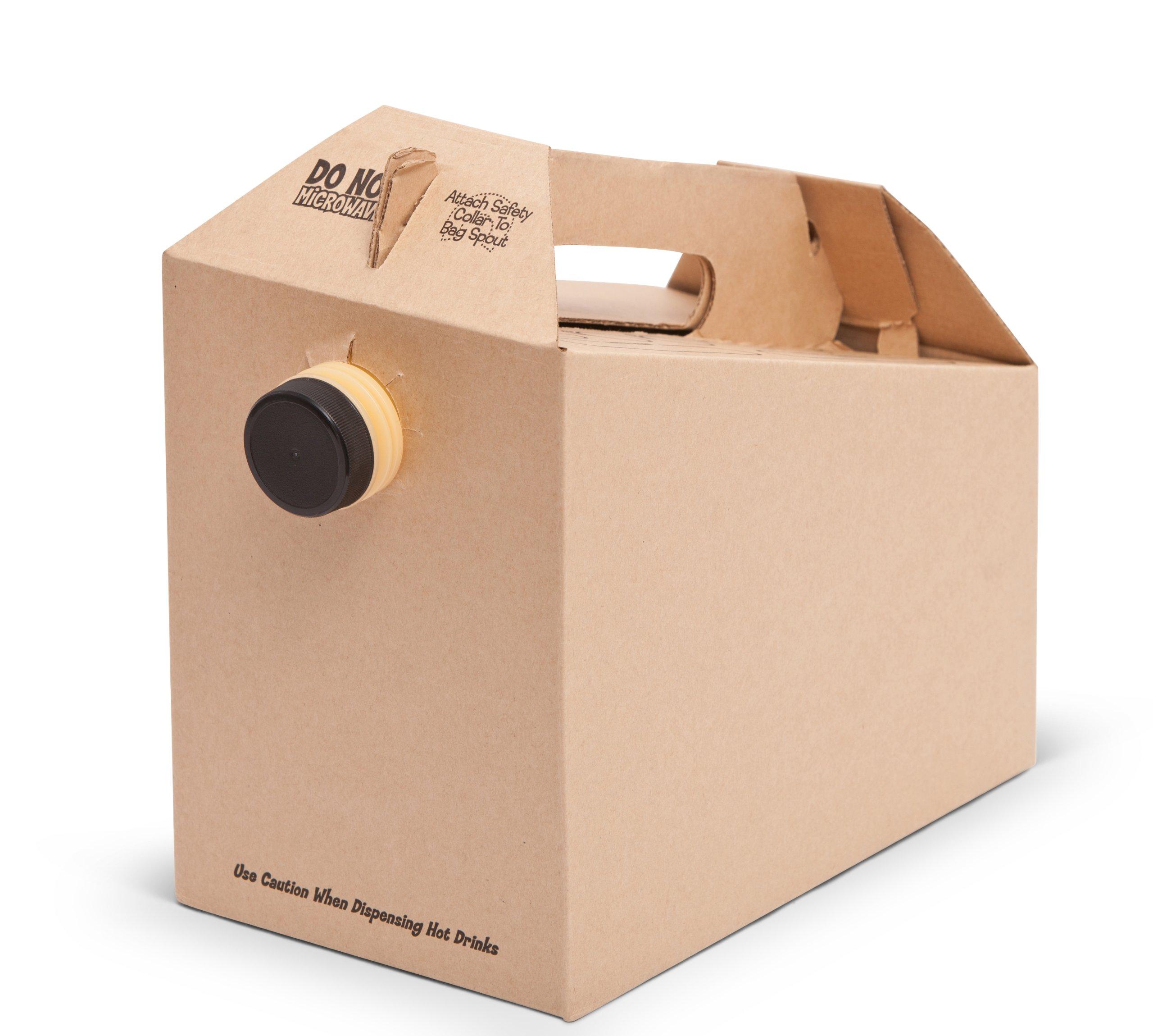 Pacific Bag 720-096 Java Box, 96 oz - 128 oz (Case of 25)