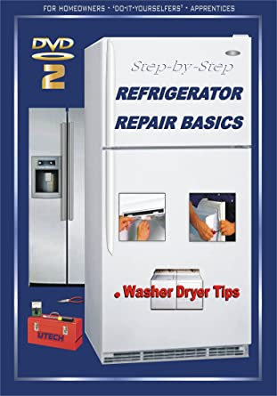 Amazon com: UTech 2 DVD 2 REFRIGERATOR REPAIR BASICS + Washer
