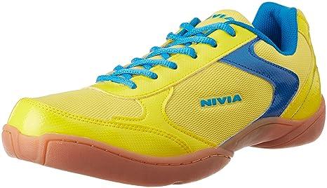 Nivia Aster Badminton Flash Shoes, Men