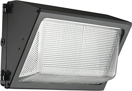 Lithonia Lighting TWR1 LED 3 50K MVOLT M2 LED Small Bronze Wall Pack with Glass Lens 5000K and 4,900 Lumens
