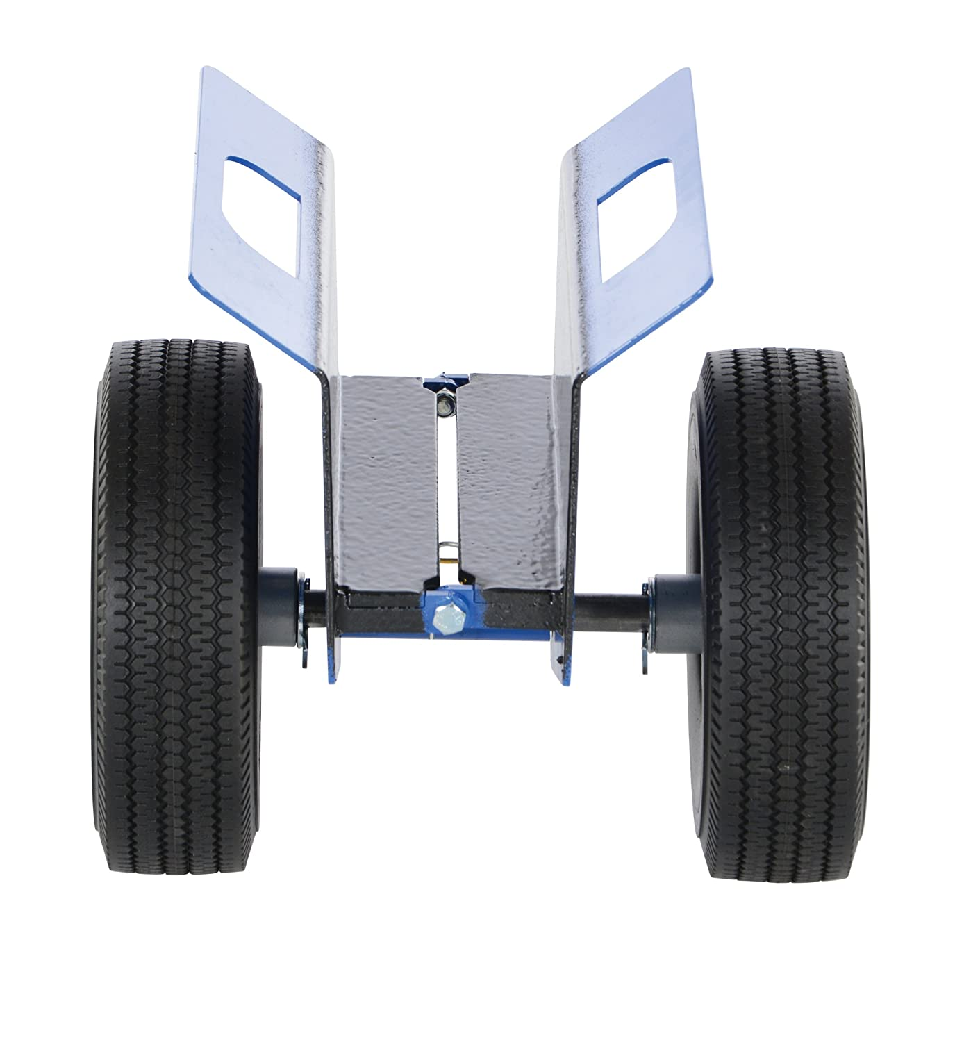 14-1//4 Height Vestil PLDL-HD-4 Steel Plate and Slab Dolly with Pneumatic Wheels 12 Length x 13 Width 750 lbs Load Capacity