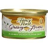 Fancy Feast Gravy Lovers Salmon Feast in Seared Salmon Flavor Gravy Canned Cat Food 24/3-oz cans-