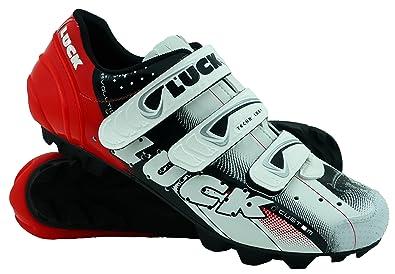 f5b2bf13 Zapatillas de Ciclismo LUCK Extreme 3.0 MTB,con Suela de Carbono y Triple  Tira de Velcro de sujeción ademas de Puntera de Refuerzo.