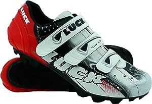 Luck Zapatillas de Ciclismo Extreme 3.0 MTB,con Suela de Carbono y Triple Tira de Velcro de sujeción ademas de Puntera de Refuerzo.: Amazon.es: Deportes y aire libre