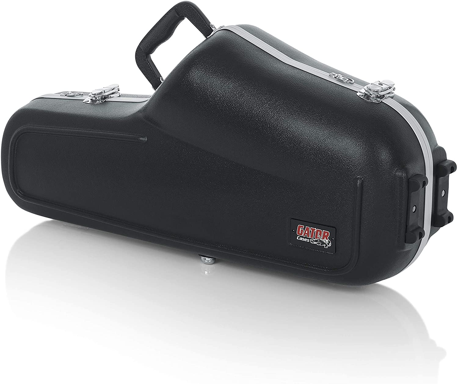 B0002CZTHA Gator Cases Lightweight Molded Alto Saxophone Case with Locking Latch and Plush Lined Interior; (GC-ALTO SAX) 81R28NWDCBL