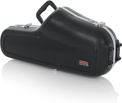 GATOR GC-ALTO SAX - Estuche para saxofón alto (interior moldeado) color Negro: Amazon.es: Instrumentos musicales