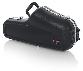 GATOR GC-ALTO SAX - Estuche para saxofón alto (interior moldeado) color Negro