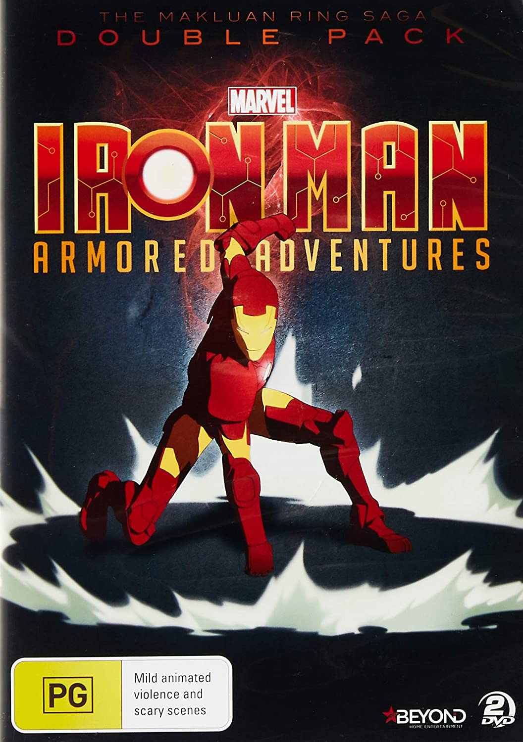 Iron Man Armoured Adventures: Double Pack 2 2 Dvd Edizione ...