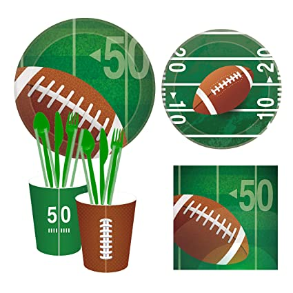 Amazon.com: CC Home Sports Football Touchdown Party Supplies ...