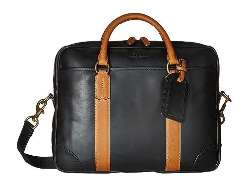 45a7f52acdea  ポロラルフローレン  Polo Ralph Lauren メンズ Core Leather Commuter Bag ブリーフケース Black