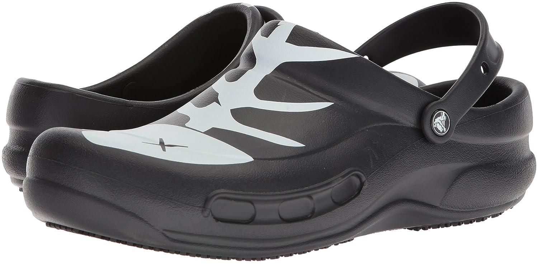 55fdd6eb2 Crocs Bistro Graphic Clog Mule Negro   Blanco   Negro