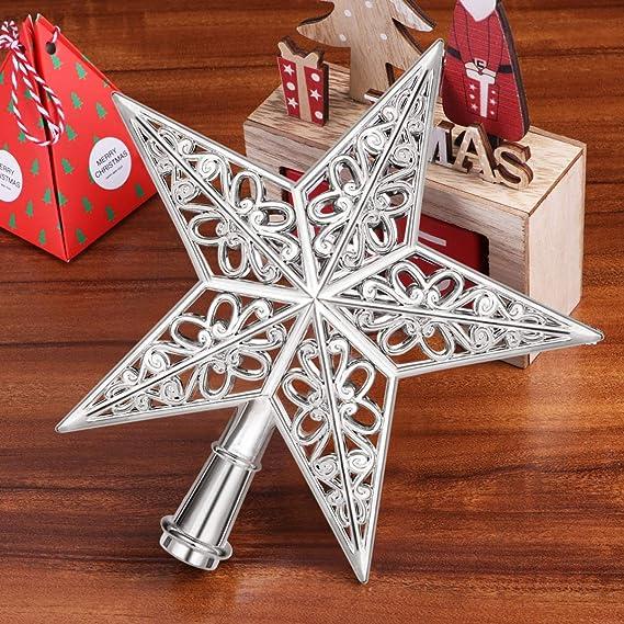 Amosfun - Decoración para árbol de Navidad, diseño de ...