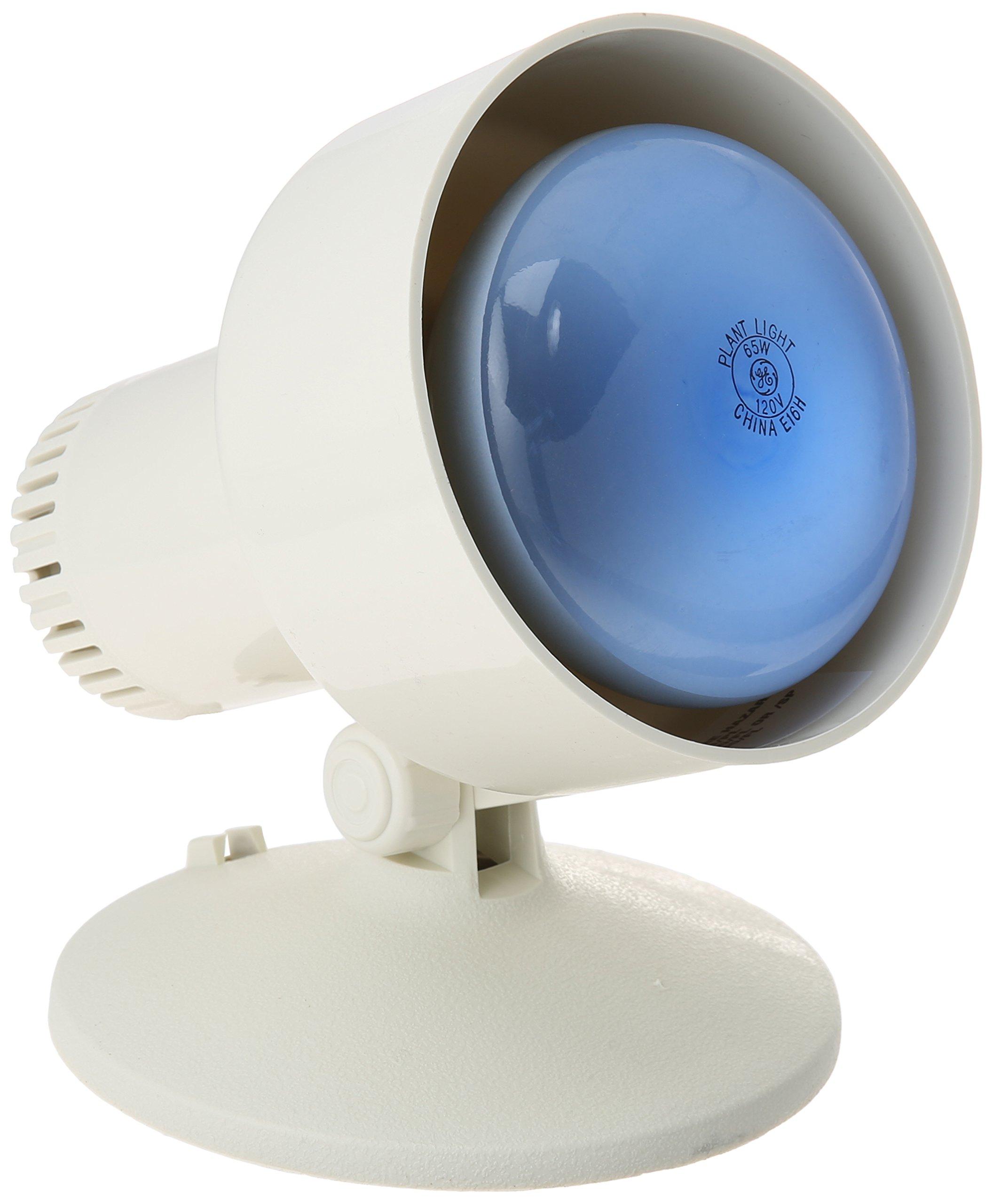 GE Lighting 44848 65-Watt Plant Light Reflector Kit with BR30 Light Bulb and Lamp by GE Lighting
