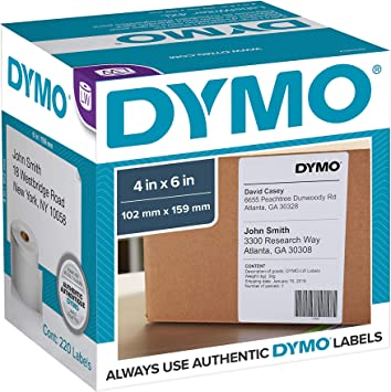 LABELS 36mm x 89mm 450 12 QUALITY LABELS FOR DYMO LABELWRITER DYMO CODE 99012