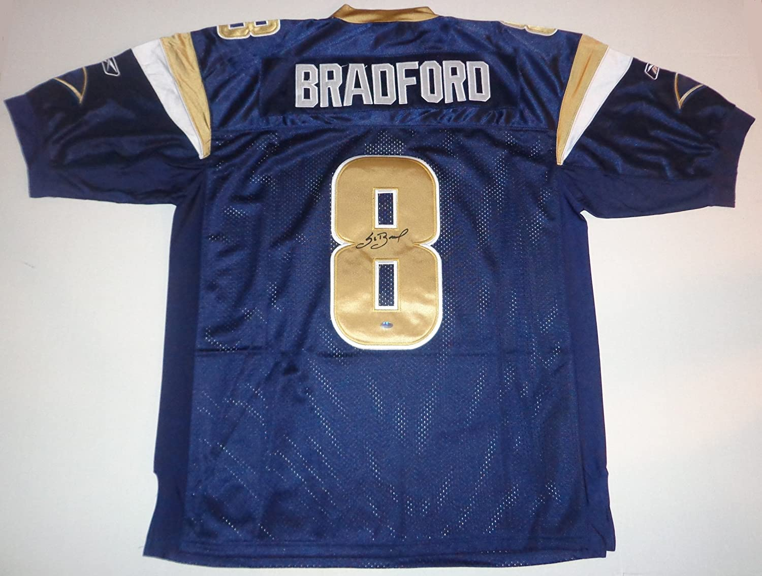 Sam Bradford - Hand Signed Jersey Authentic Autographed Auto w ...