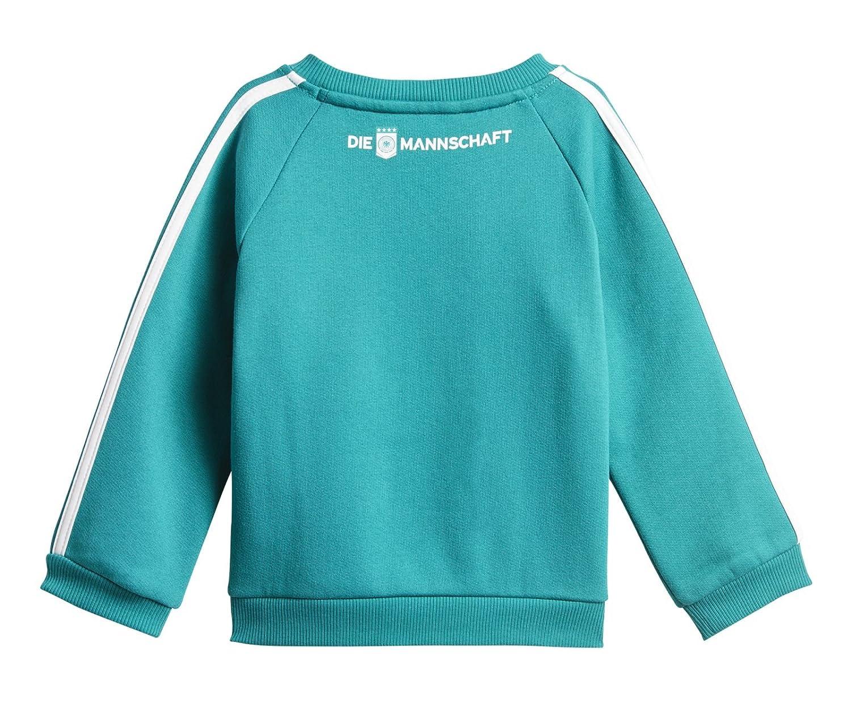 c75fde520d1b9 adidas DFB 3 Stripes Baby Jogger Survêtement Bébé Unisexe S EQT Green s16  Black White  Amazon.fr  Sports et Loisirs