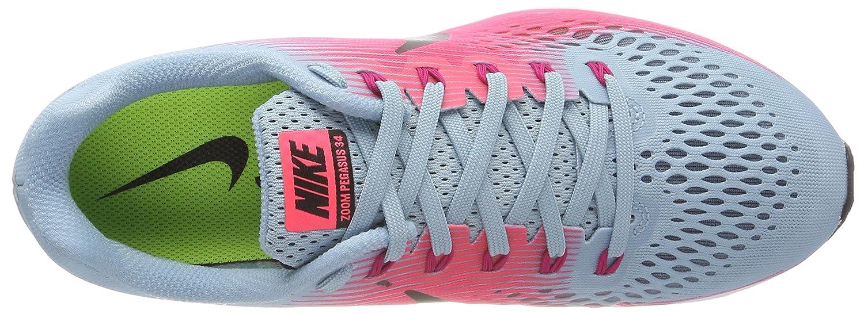 c2b417aac Amazon.com | Nike Womens Air Zoom Pegasus 34 Low Top Lace Up Running  Sneaker | Road Running