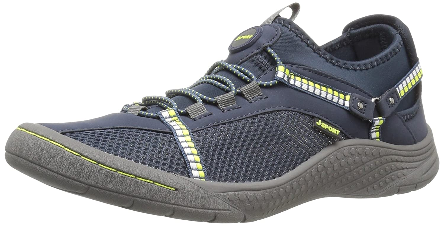 JSport by Jambu Women's Tahoe Encore Walking Shoe B01IFFHAX6 8.5 B(M) US|Navy/Kiwi