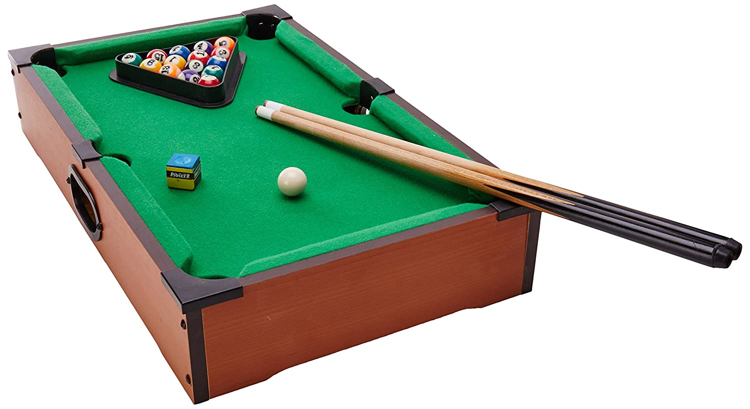 Amazoncom Ideal RackEm Tabletop Pool Toys Games - Pool table scorekeeper