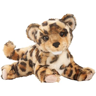 Cuddle Toys 1871 36 cm Long Spatter Leopard Plush Toy: Toys & Games