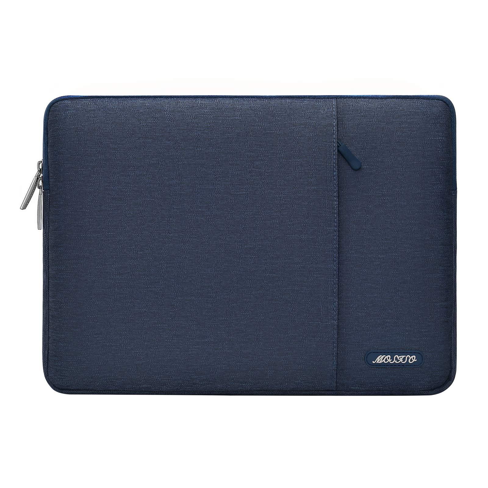 Funda MOSISO Azul Oscuro Para Laptop 13 Pulgadas