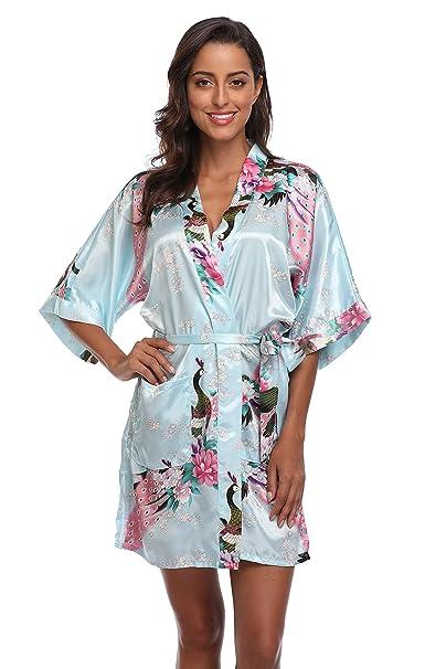 Amazon.com  CostumeDeals KimonoDeals Women s Soft Kimono Robe aaea0726b