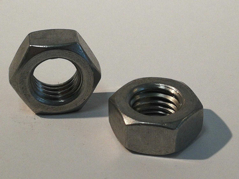 Acero inoxidable, M12 12 piezas tuercas hexagonales de acero inoxidable A4 DIN 934