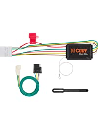 CURT Manufacturing 56217 Vehicle-Side Custom 4-Pin Trailer Wiring Harness for Select Toyota Highlander