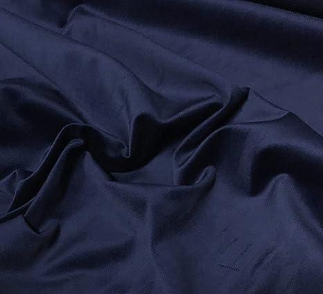 Tela de terciopelo de algodón azul marino: Amazon.es: Juguetes y ...