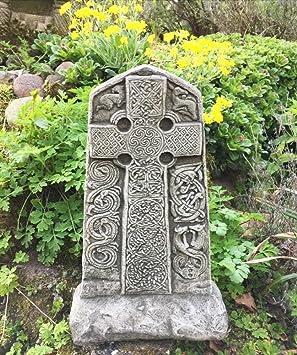 wie aus Stein Wegekreuz Keltisches Kreuz doppelseitig
