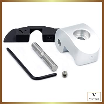 Vestigia® - Reforzado Gancho Lock Latch Enganche de Sustitución para Manillar de Patinete Xiaomi M365, Bisagra Hebilla de la Cerradura, Piezas de ...