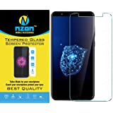 nzon 2.5D 0.3 mm Nano Curved Clear Tempered Glass for Micromax Infinity