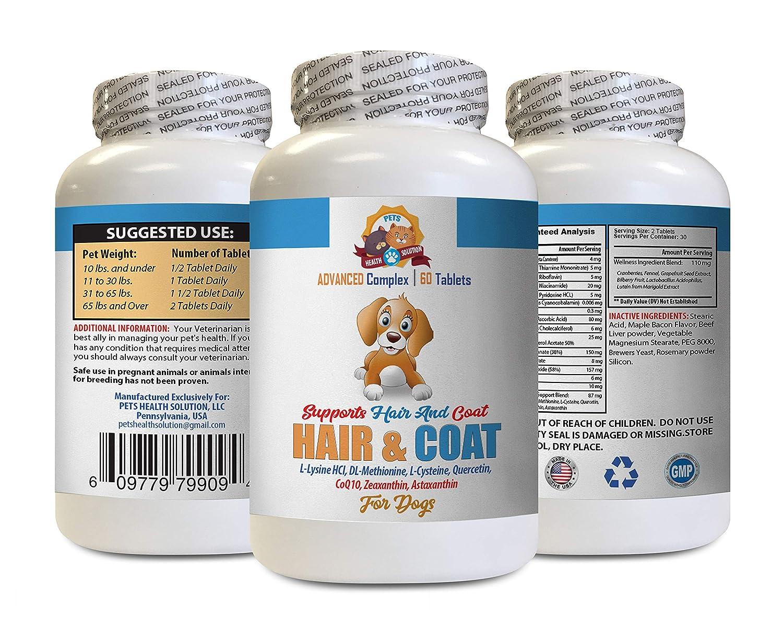 Amazon.com: Pastillas anti picor para perro, para el pelo y ...