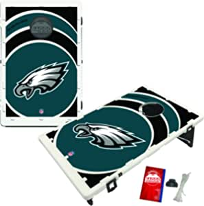 Victory Tailgate Ashland University Eagles Baggo Bean Bag Toss Cornhole Game Vortex Design