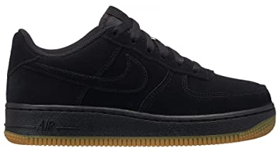 low priced f3799 0984d Nike Air Force 1 PRM (GS), Chaussures de Fitness garçon, Noir Black