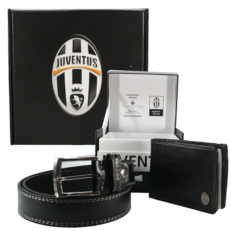 7cff47571b2df Juventus FC Herren Geldtasche+Gürtel Geschenkkarton Geldbeutel Handtasche  Herren tasche Geldbörse Portemonnaie  Amazon.de  Schuhe   Handtaschen