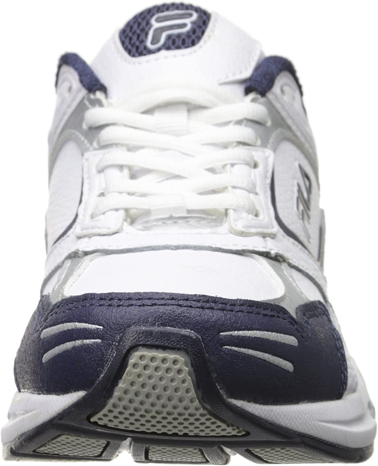 Fila Men's DECIMUS 3-M White/Navy/Metallic Silver