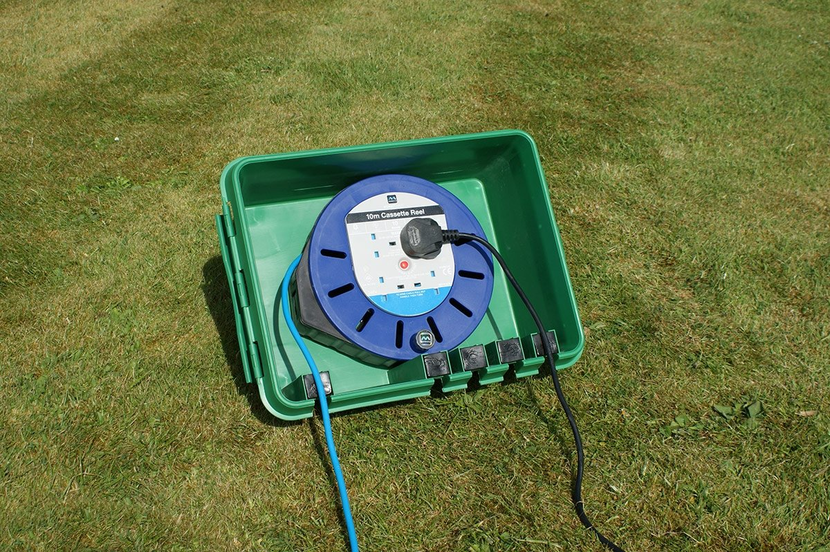 Sockit Box Fl 1859 330 G Weatherproof Powercord Connection Pool Pump Outlet Wiring Green Waterproof Cord Protector
