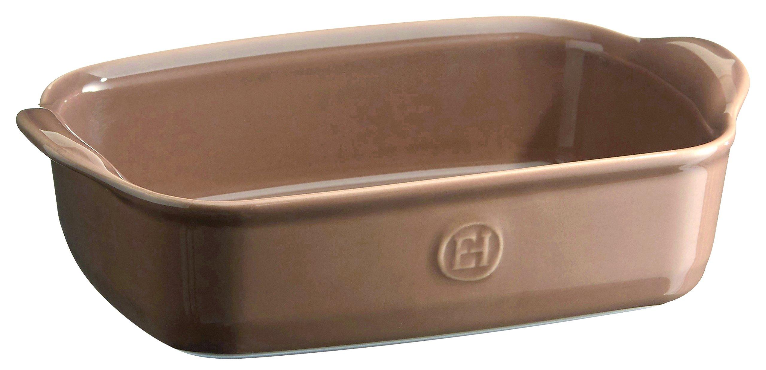 Emile Henry 969649 France Ovenware Ultime Rectangular Baking Dish, 8.7 x 5, Oak