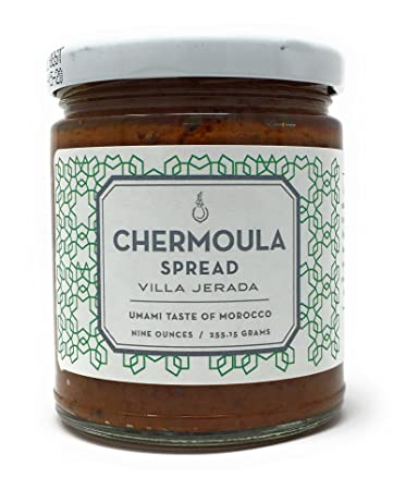 Chermoula Marinade Sauce by Villa Jerada (9 ounces/255 grams)