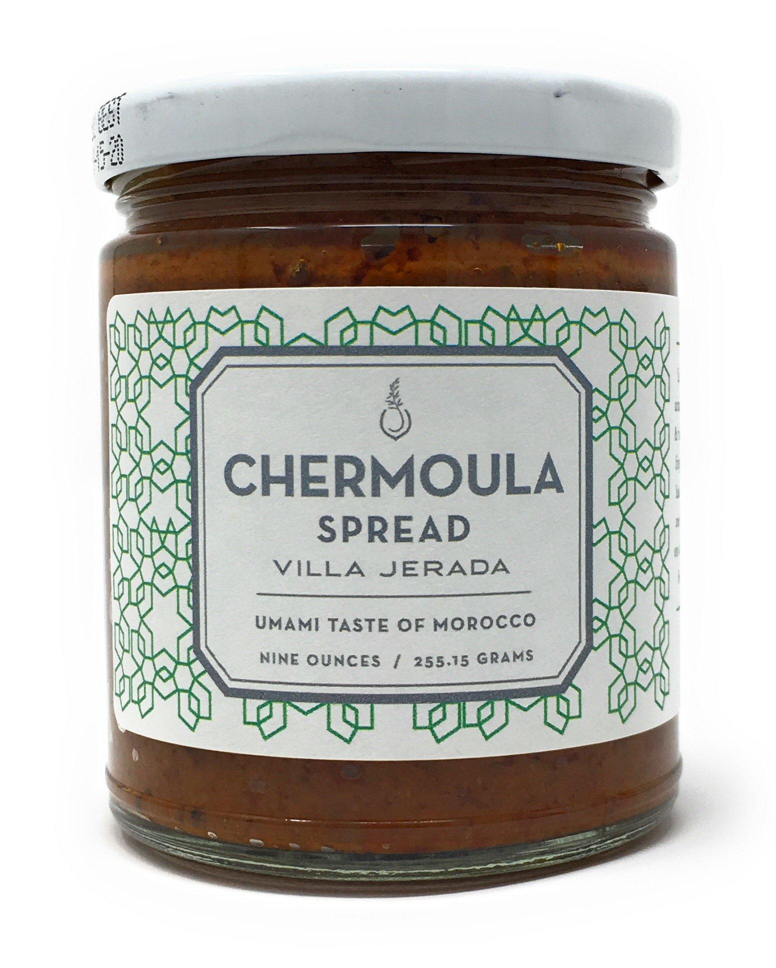 Chermoula Marinade Sauce by Villa Jerada (9 ounces/255 grams)