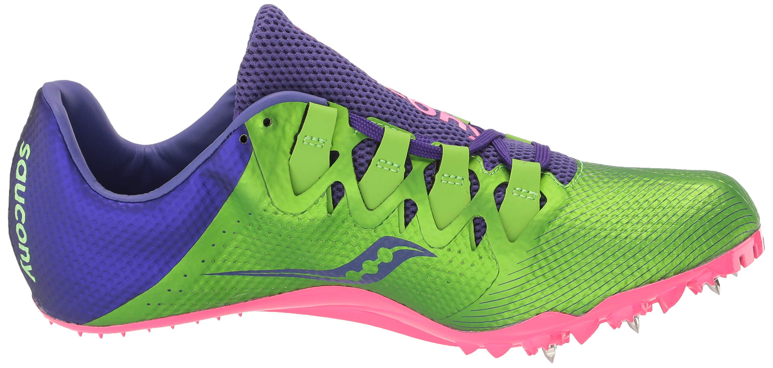 Saucony Showdown 4 Women 5 Slime | Purple by Saucony (Image #7)