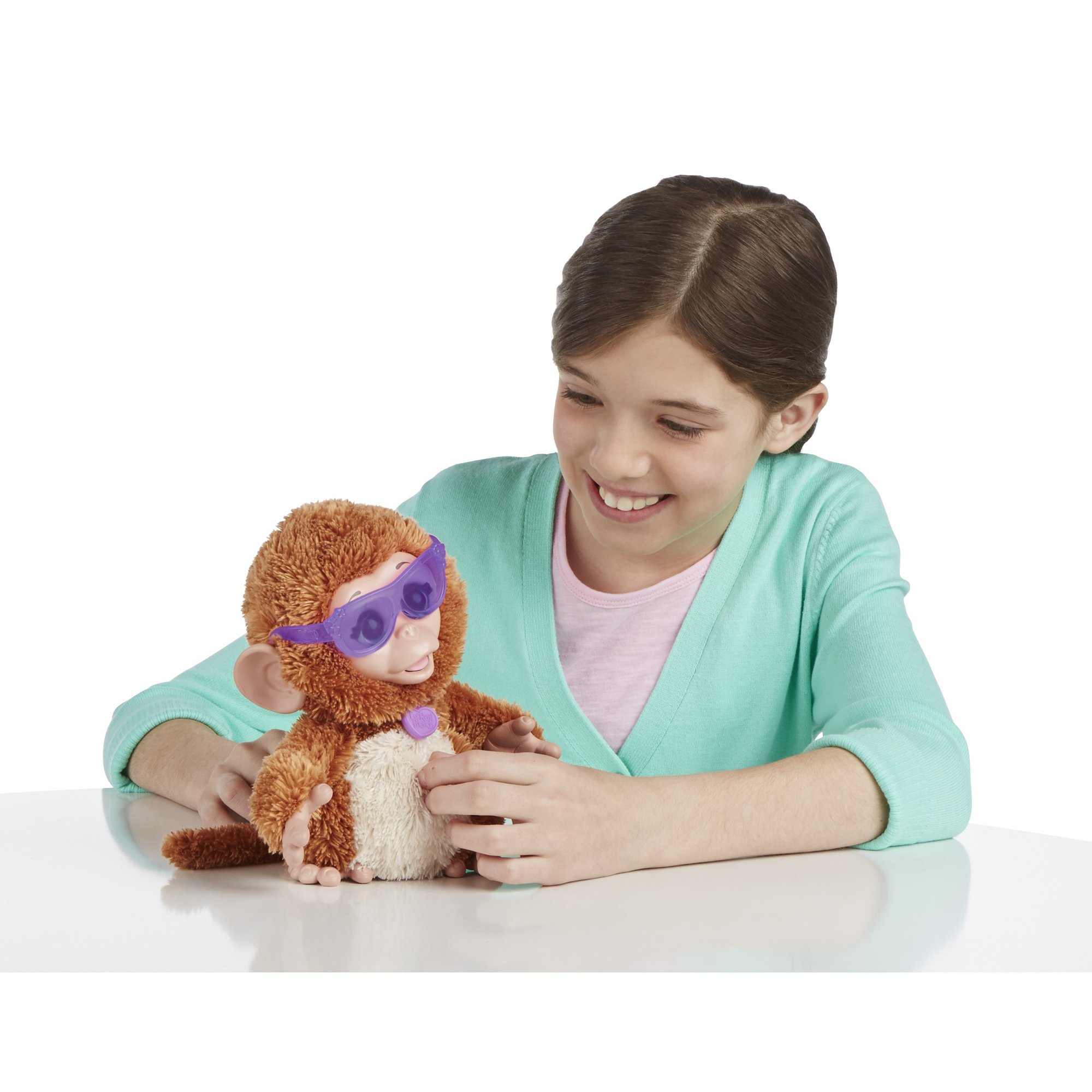 FurReal Friends Baby Cuddles My Giggly Monkey Pet Plush by FurReal (Image #5)