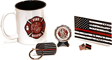 Fire and Rescue Coffee Cup