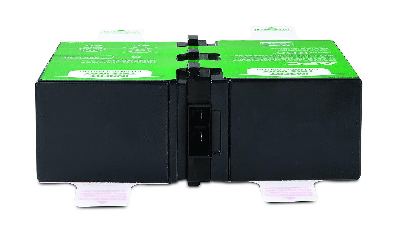 APC APCRBC124 Batterie de Remplacement pour Onduleur APC BR1500GI BR1200GI BR1200G-FR BR1500G-FR