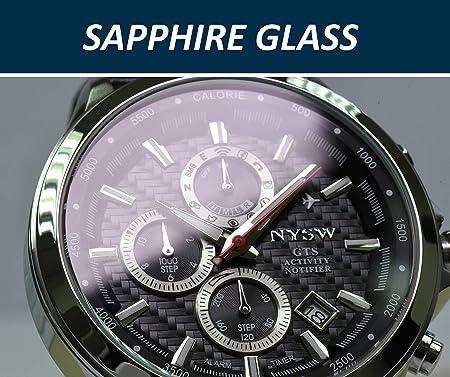 Amazon.com: NYSW Lifestyle Smart Watch Fitness Tracker Watch ...