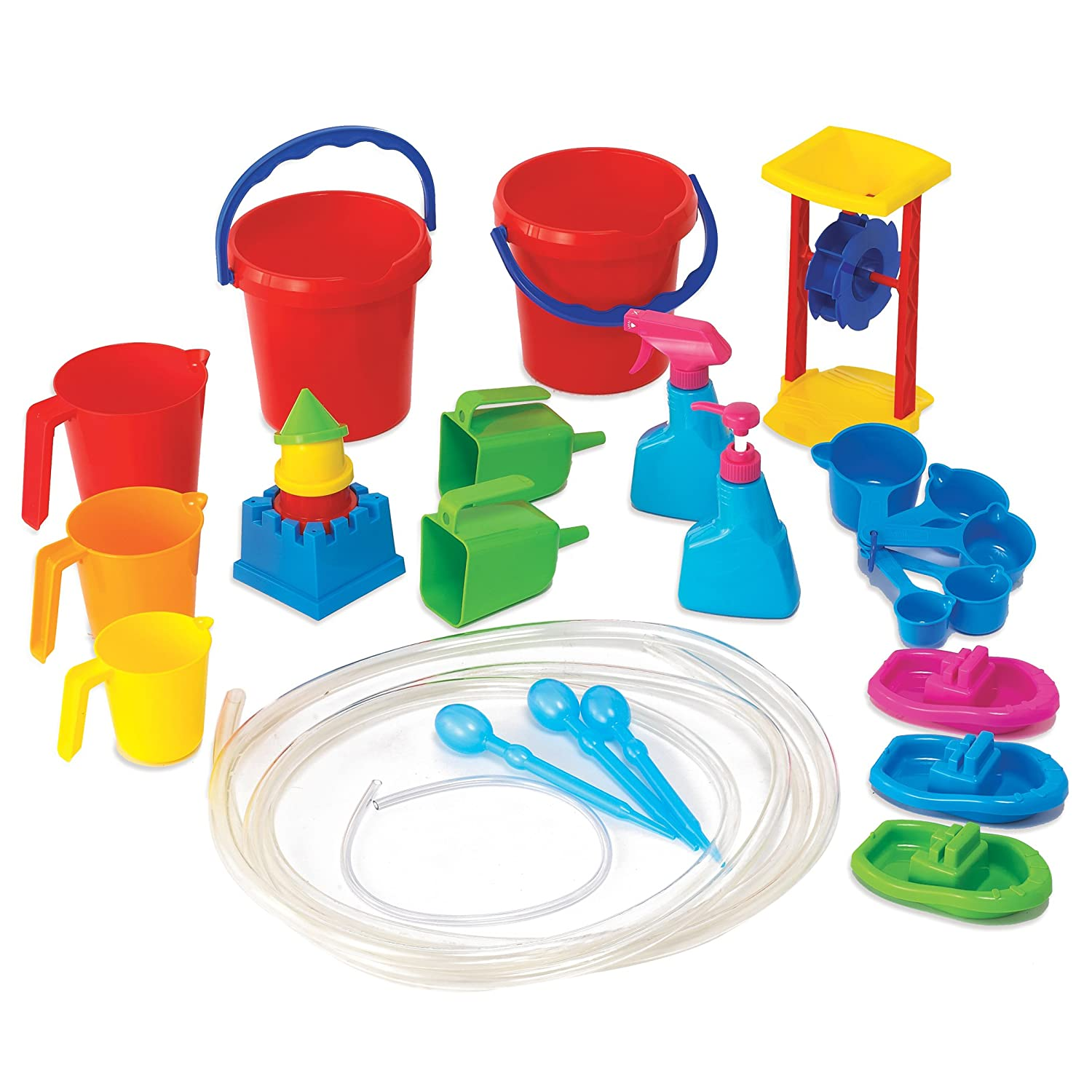 Learning Advantage 7007 Water Play Tool Set Pack of 27 CTU66351