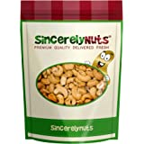Sincerely Nuts Whole Cashews Roasted & Unsalted - One Lb. Bag - Enticing Taste - Delightfully Crunchy - Healthy Nutrients- Kosher
