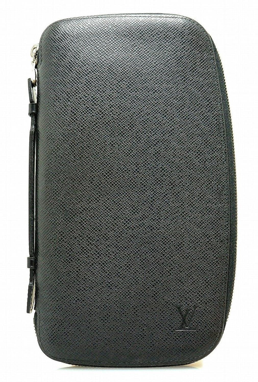 [ルイ ヴィトン] LOUIS VUITTON タイガ オーガナイザー アトール トラベルケース セカンドバッグ レザー アルドワーズ 黒 ブラック M30652 B078L9YHGT